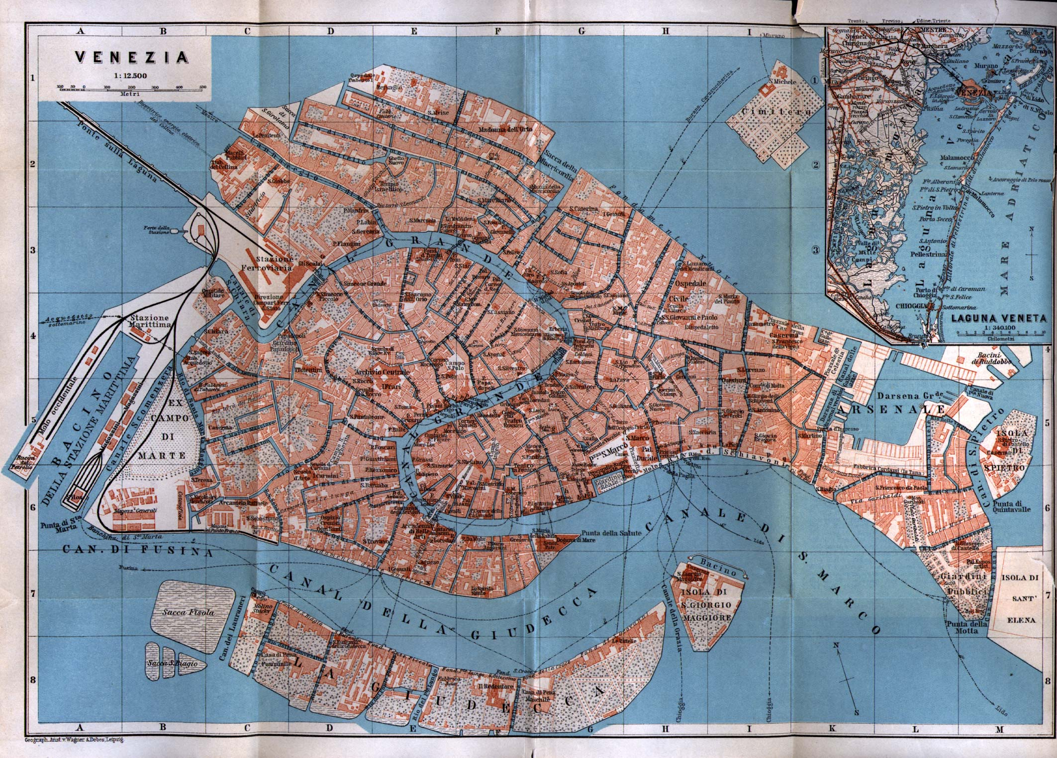 printable kb version of the map . venice maps