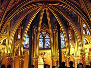 an introduction to the history and the architecture of sainte chapelle It is a diminutive yet perfect example of the rayonnant style of gothic architecture of kings, and the history of the sainte-chapelle seen from.