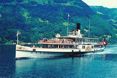 Lake Lucerne by Steamer - Vierwaldstättersee Boat Cruises