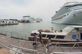 Transfer venice airport to cruise terminal