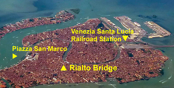 venezia santa lucia train station map Venice Train Station 2020 venezia santa lucia train station map